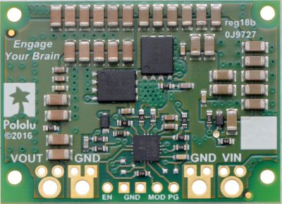 Pololu 12 V, 15 A Step-Down Voltaj Regülatör D24V150F12 - PL-2885