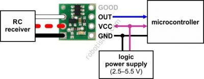 Pololu Digital Out RC Switch