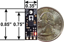 Pololu Dijital Mesafe Sensörü - 200cm - Thumbnail