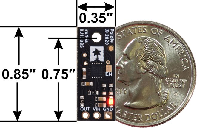 Pololu Dijital Mesafe Sensörü - 5cm