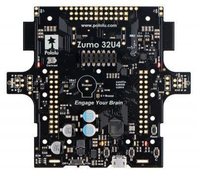 Pololu Zumo 32U4 Robot Kiti (Motorsuz) PL-3124