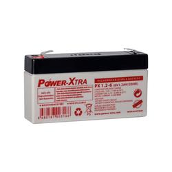 Power-Xtra - Power-Xtra 6 V 1.2 Ah Bakımsız Kuru Akü