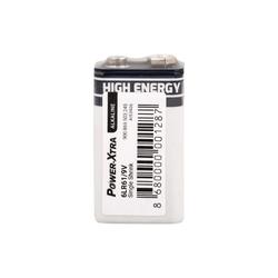 Power-Xtra - Power-Xtra 9V Alkalin Pil 6LR61