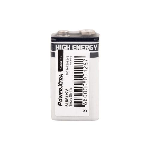 Power-Xtra 9V Alkalin Pil 6LR61