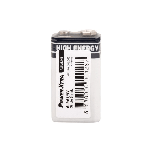 Power-Xtra 9V Alkaline Battery