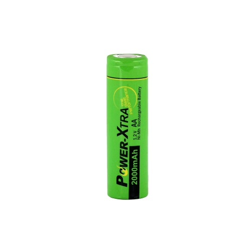 Power-Xtra AA 2000 mAh Ni-Mh Rechargable Battery (Flat)