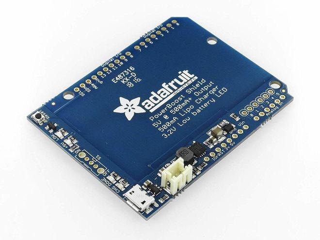PowerBoost 500 Shield - Şarj Edilebilir 5V Güç Shiled'i