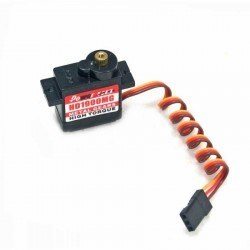PowerHD Copper Gear Mini Analog Servo Motor - HD-1900MG - Thumbnail
