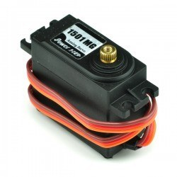 PowerHD High Torque Standard Copper Gear Analog Servo Motor - HD-1501MG - Thumbnail