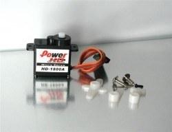 PowerHD Mikro Analog Servo Motor - HD-1800A - Thumbnail