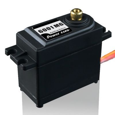 PowerHD Standard Copper Gear Analog Servo Motor - HD-6001MG