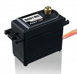 PowerHD Standard Copper Gear Analog Servo Motor - HD-9001MG - Thumbnail