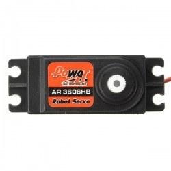 PowerHD Tam Tur Dönen Servo Motor - AR3606HB (Sürekli Dönebilen) - Thumbnail