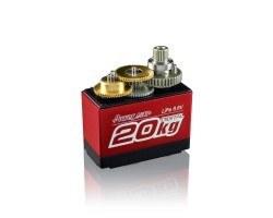 PowerHD Ultra Yüksek Güçlü Dijital Servo Motor - LF-20MG (360°) - Tam Tur Dönebilir - Thumbnail