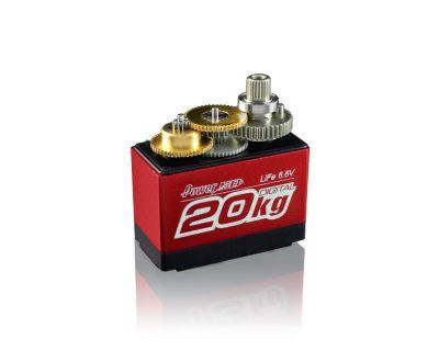 PowerHD Ultra Yüksek Güçlü Dijital Servo Motor - LF-20MG (360°) - Tam Tur Dönebilir