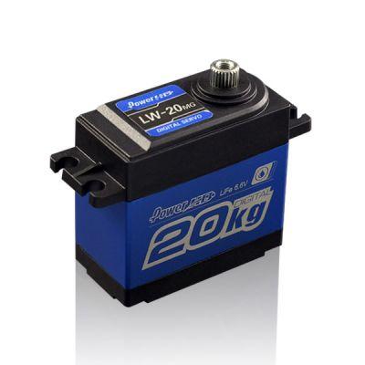 PowerHD Waterproof Copper Gear Digital Servo Motor - LW-20MG