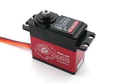 PowerHD Yüksek Voltajlı Çekirdeksiz Dijital Servo Motor - D-25HV