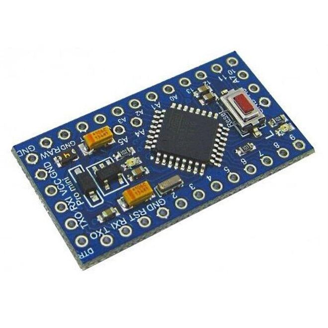Pro Mini 328 For Arduino - 3.3V/8MHz (With Headers)