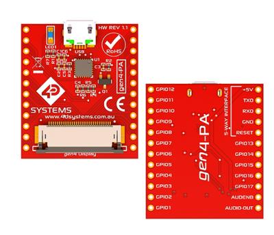 Programming Adaptor for Picaso/Diablo Gen4 Display Modules