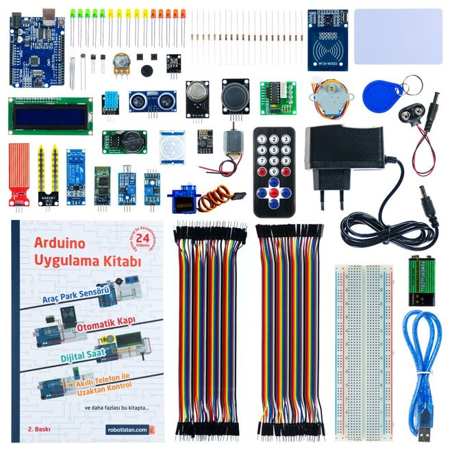 Project Kit for Arduino (with Turkish Booklet)