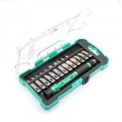 Proskit 14pcs Aluminum handle knife kit PD-398 - Thumbnail