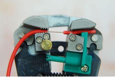 Proskit Kablo Sıyırma/Kıvırma Pensesi - 8PK-371D