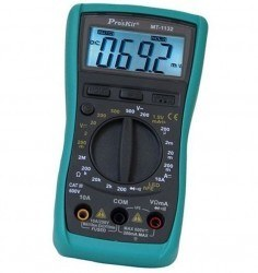 Proskit MT-1132 3 1/2 Manual Digital Multimeter - Thumbnail