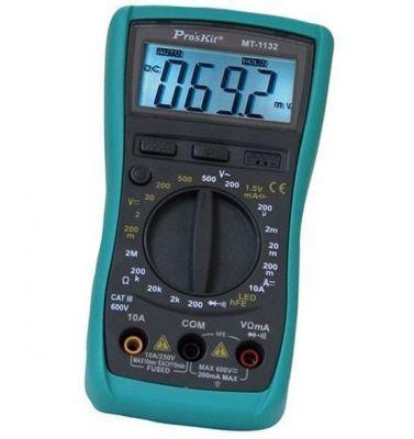 Proskit MT-1132 3 1/2 Manual Digital Multimeter