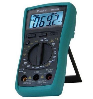 Proskit MT-1132 3 1/2 Manuel Digital Multimetre - Manüel Kademeli Dijital Multimetre