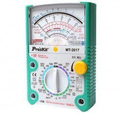 Proskit MT-2017 Analog Multimeter - Thumbnail