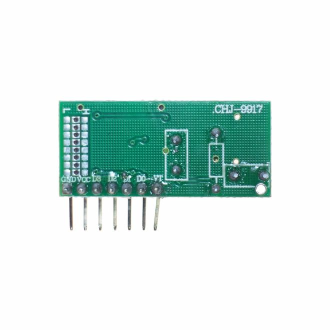 PT2272 4 Channel RF Receiver Module - Compatible with 4KM and 1KM Transmitters