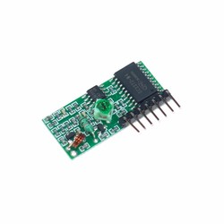 Robotistan - PT2272 4 Channel RF Receiver Module - Compatible with 4KM and 1KM Transmitters