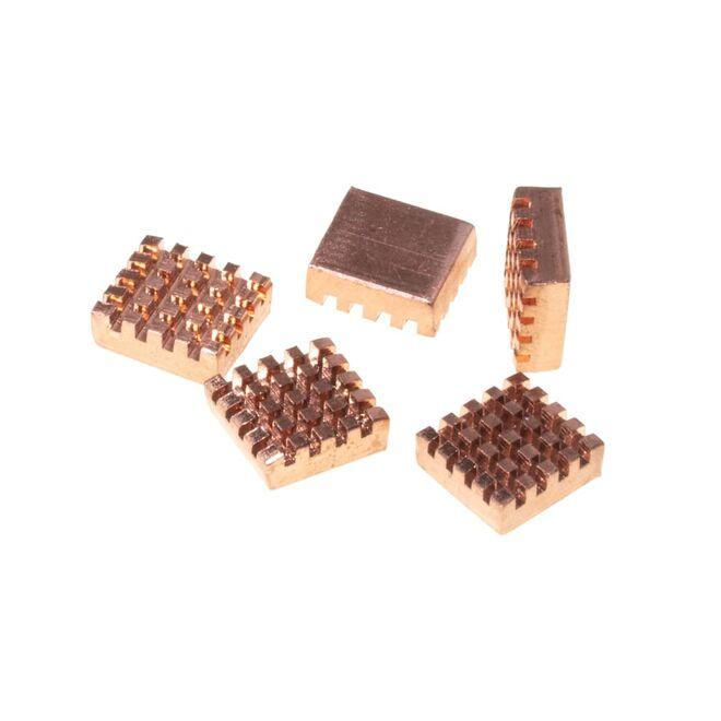 Pure Copper Heatsink Pack x 5