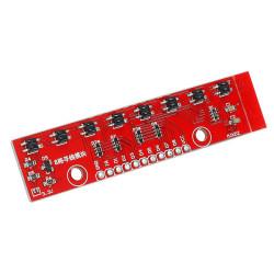 QTR-8A 8'li Çizgi Algılama Sensör Kartı - Thumbnail