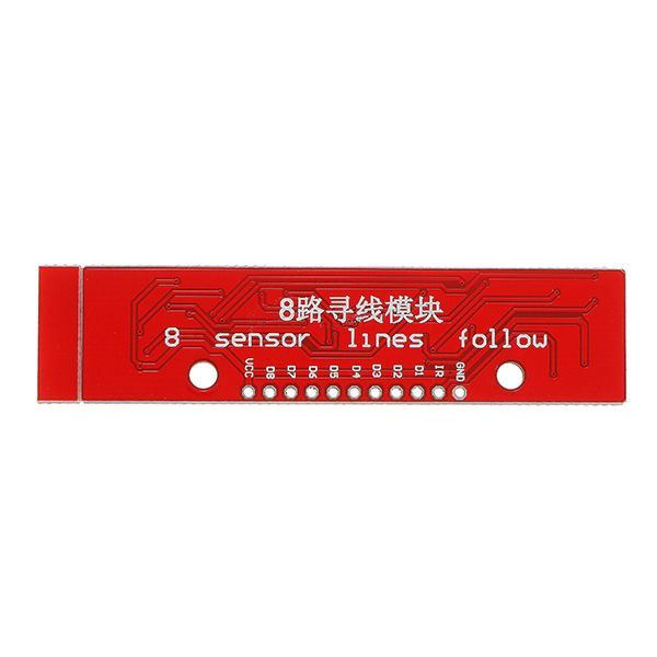 QTR-8A 8'li Çizgi Algılama Sensör Kartı