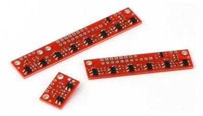 QTR-8A 8′li Kızılötesi Sensör - Analog - PL-960
