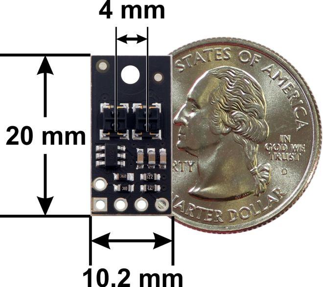 QTRX-HD-02RC 2'li Çizgi Algılama Sensörü (Sık Sensör Dizilimli)