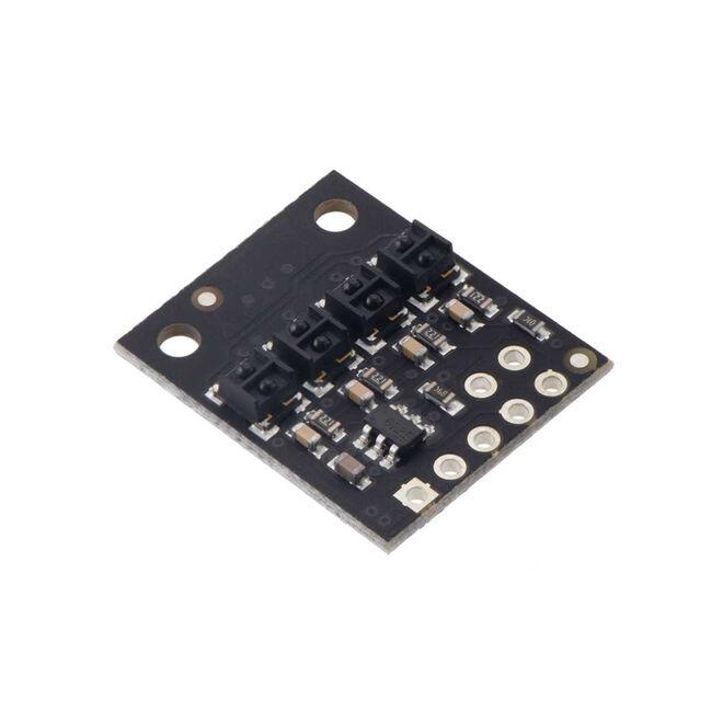 QTRX-HD-04RC 4′lü Çizgi Algılama Sensörü (Sık Sensör Dizilimli)
