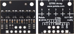 QTRX-HD-05RC 5'li Çizgi Algılama Sensörü (Sık Sensör Dizilimli) - Thumbnail