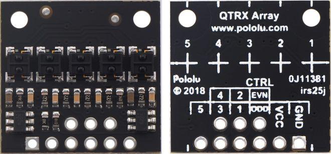 QTRX-HD-05RC 5'li Çizgi Algılama Sensörü (Sık Sensör Dizilimli)