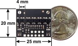 QTRX-HD-06A 6'lı Çizgi Algılama Sensörü (Sık Sensör Dizilimli) - Thumbnail