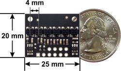 QTRX-HD-06RC 6'lı Çizgi Algılama Sensörü (Sık Sensör Dizilimli) - Thumbnail
