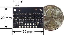 QTRX-HD-07A 7'li Çizgi Algılama Sensörü (Sık Sensör Dizilimli) - Thumbnail