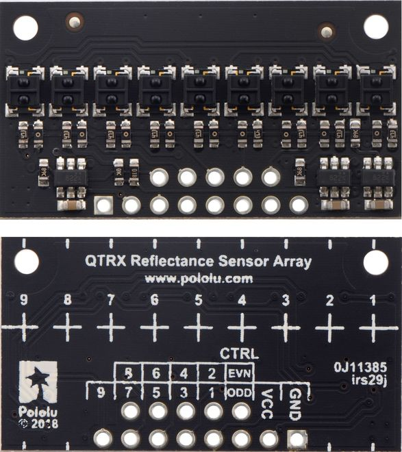 QTRX-HD-09A Reflectance Sensor Array