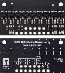 QTRX-HD-09RC 9'lu Çizgi Algılama Sensörü (Sık Sensör Dizilimli) - Thumbnail