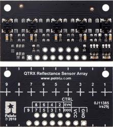 QTRX-MD-05RC 5'li Çizgi Algılama Sensörü (Seyrek Sensör Dizilimli) - Thumbnail