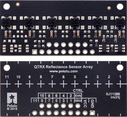 QTRX-MD-06RC 6'lı Çizgi Algılama Sensörü (Seyrek Sensör Dizilimli) - Thumbnail