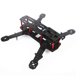 Quadcopter için Carbon Fiber Mini 250 FPV Gövde (Frame) - Thumbnail