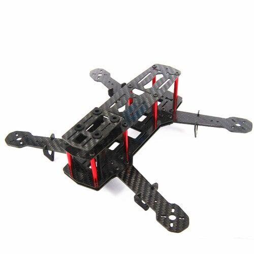 Quadcopter için Carbon Fiber Mini 250 FPV Gövde (Frame)