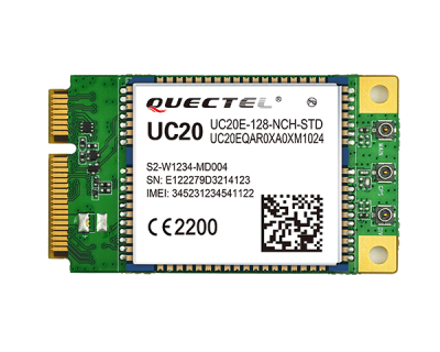 Quectel UC20 3G UMTS/HSPA+ Mini PCIe Modül